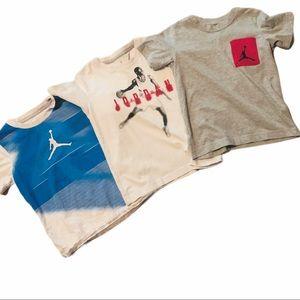 Jordan size 7 shirts